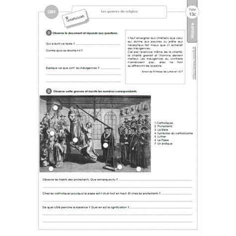 8 lecons dhistoire economique 152 fiches d histoire cm1 4e ann 233 e