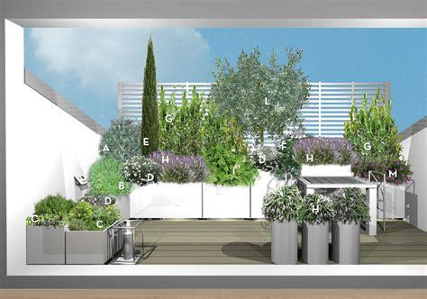terrazzo tetto progetto verde per il terrazzo nel tetto un angolo