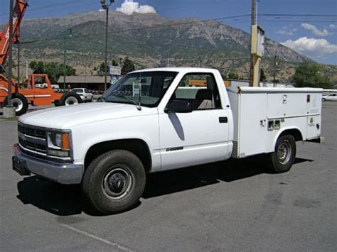 auto air conditioning repair 2000 chevrolet 2500 user handbook find used utility truck bi fuel gas cng dual fuel chevrolet 2500 air conditioning cruise in orem
