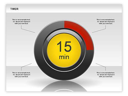 Timer Diagram For Powerpoint Presentations Download Now Powerpoint Timer Free
