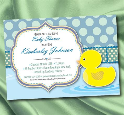 Cute Baby Shower Cakes For A Boy by Free Printable Rubber Ducky Baby Shower Invitations