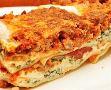 Easy Lasagna Recipe With Ricotta Cheese No Cottage Cheese by Italian Lasagna With Ricotta Cheese Recipe Easy Italian
