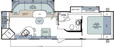 select floor plans 2012 forest river surveyor select 301 sold travel
