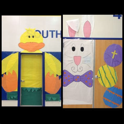 Easter Classroom Decorations by Easter Door Decoration Classroom Decor