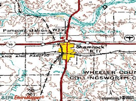 shamrock texas map shamrock texas tx 79079 profile population maps real estate averages homes statistics