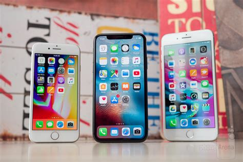 apple iphone x vs iphone 8 vs iphone 8 plus
