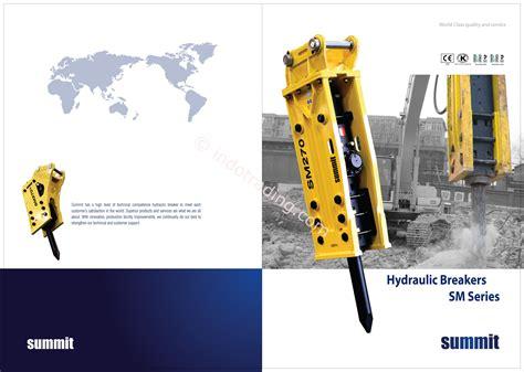 opreaker indonesia jual hydraulic breaker summit hydraulic breaker jakarta