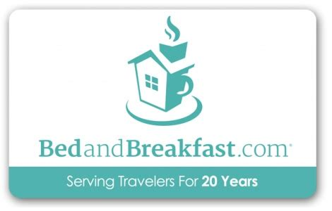 bed and breakfast gift card bedandbreakfast com