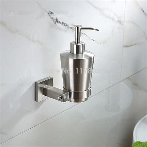 bathroom soap dispensers wall mounted stainless steel soap dispenser wall mounted hand sanitizer