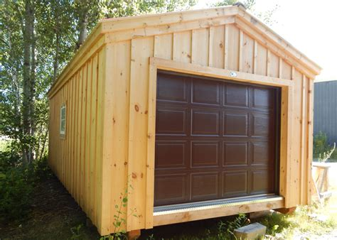 Small Overhead Door 12x20 Shed Kit Garage Shed Kits Garage Kits For Sale