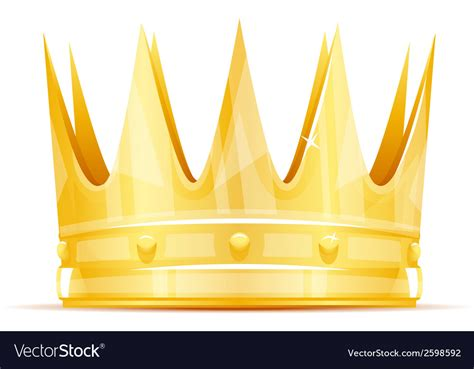 king crown images king crown royalty free vector image vectorstock
