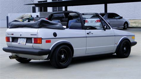 1984 Volkswagen Rabbit Convertible German Cars For Sale