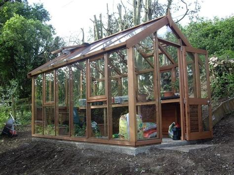 Half Shed Half Greenhouse by Diy Wonderful Greenhouse Plans Note The Tilt Out Half