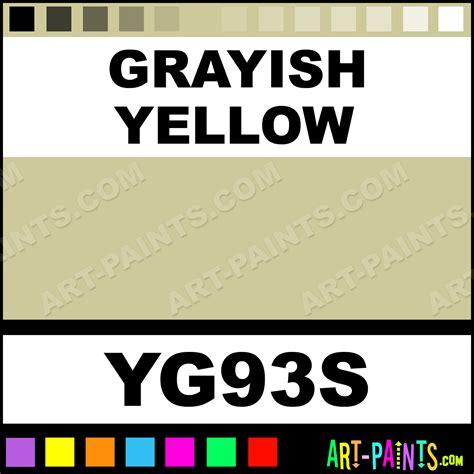 grayish yellow sketch markers paintmarker marking pen paints yg93s grayish yellow paint