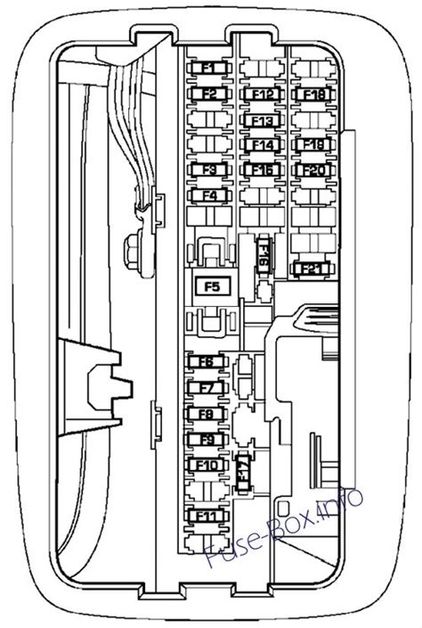Fuse Box Diagram Gt Dodge Durango 2004 2009