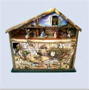 nativity wooden advent calendar musical advent calendars