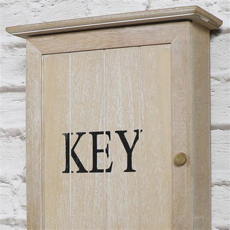 wall mounted key cabinet wooden rustic wall mounted wooden key cabinet melody maison 174