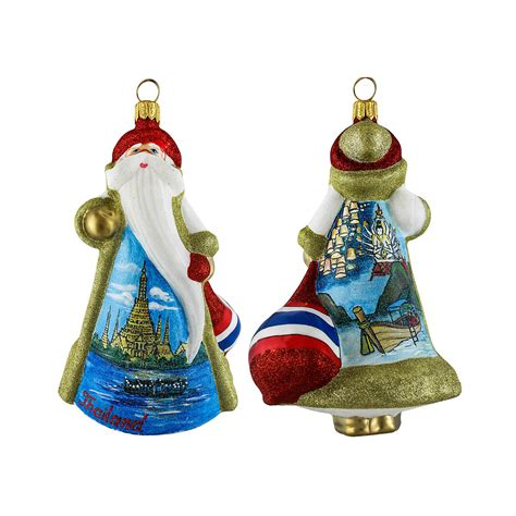 thailand santa christmas ornament gump s