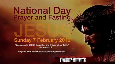 when is the day of fasting 2018 national day of prayer fasting 2016 tv promo