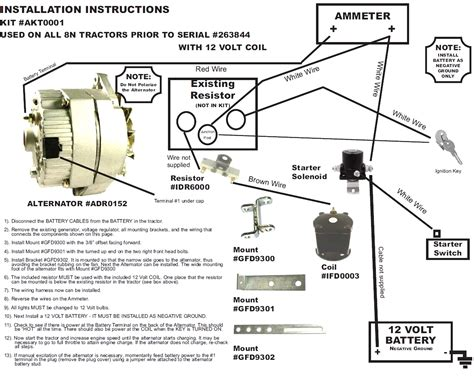 wiring diagram for alternator with external regulator external voltage regulator wiring diagram dodge 47
