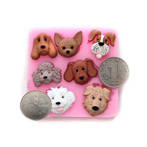 silicone dogs 3d dogs silicone cake mold fondant cake decorating tools alex nld