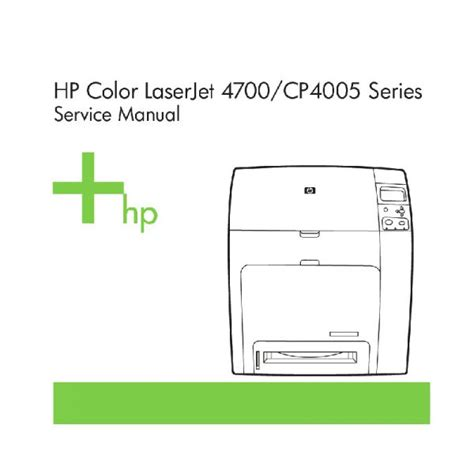 Free Download Hp Color Laserjet 4700 Cp4005 English