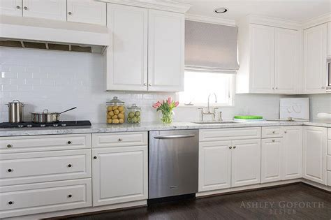 white subway tile kitchen white kitchen cabinets with white subway tiles