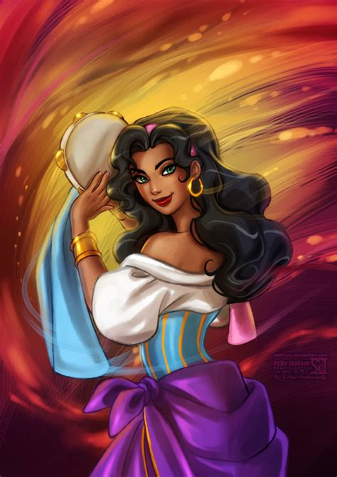 disney esmeralda wallpaper hunchback of notre dame esmeralda by daekazu on deviantart