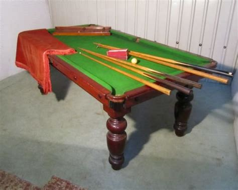 Snooker Dining Table Mahogany Billiard Snooker Dining Table 142860 Sellingantiques Co Uk
