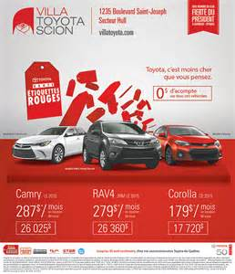 Villa Toyota Service Groupe Demers Agence De Publicit 233 Marketing