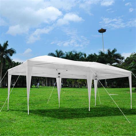 easy up pavillon 10 x 20 outdoor ez pop up canopy wedding