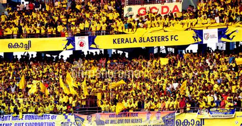 Home Decor Deal Sites sea of kerala blasters fans dips kochi in yellow must