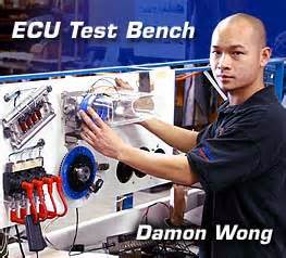 ecu test bench header comparison test