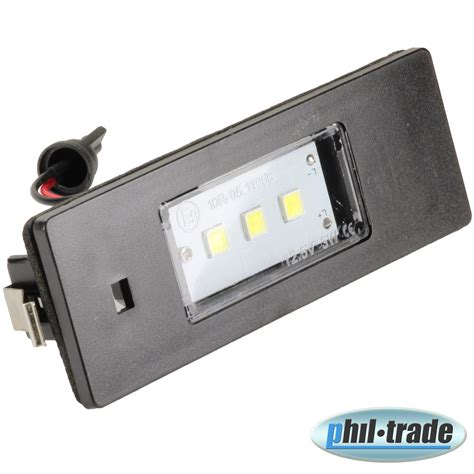kennzeichen beleuchtung kennzeichen beleuchtung led smd sehr helle wei 223 e
