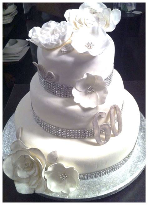 60th wedding anniversary cake   Cakes and sweets by