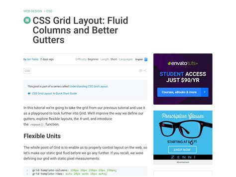 css grid layout fluid popular design news of the week september 19 2016