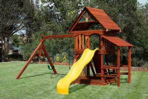 cheap wood swing sets for sale wooden playsets at discount prices houston swing