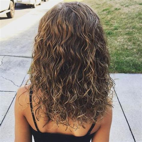 beach wave perm for med layered hair 40 gorgeous perms looks say hello to your future curls