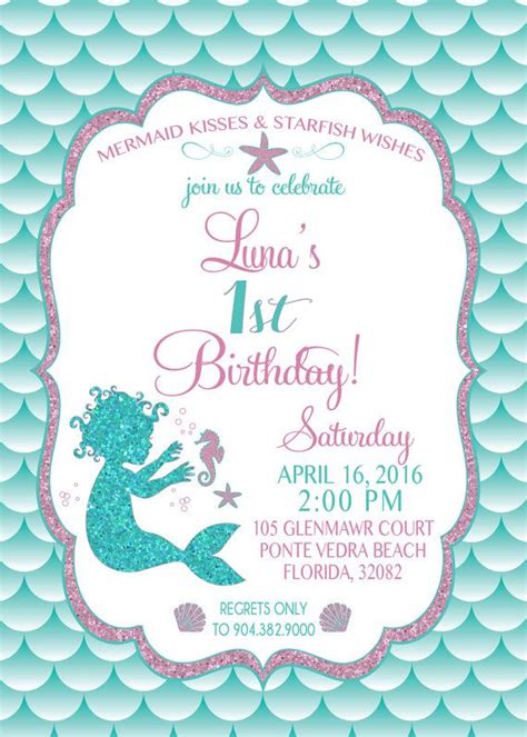 mermaid invitation template 25 best ideas about mermaid invitations on