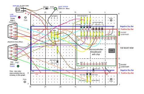 breadboard wiring diagram breadboard circuits