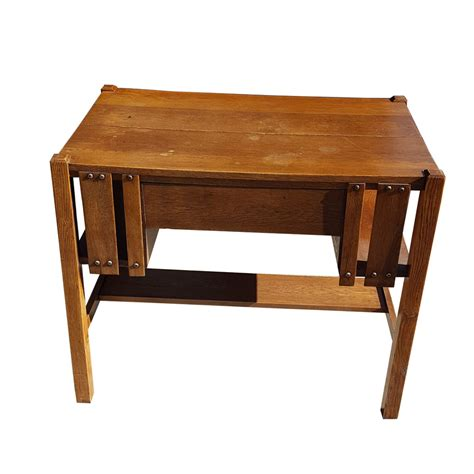 mission style furniture desk vintage mission style oak desk and chair mr14859 50 ebay