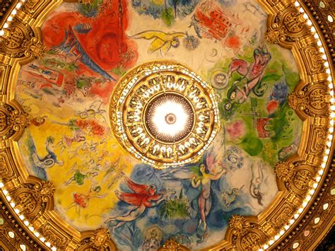 Opera Garnier Plafond by Contrarian What Garnier Created Chagall Desecrated