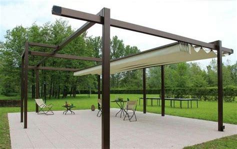 tettoie da giardino coperture mobili per esterni per terrazzi tettoie mobili