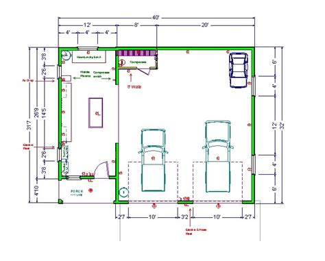 workshop floor plans small garage shop ideas ultimate home woodshop my home