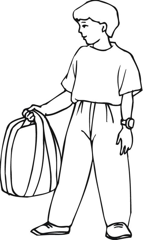 Outline Of A Boy Cliparts Co Boy Coloring Pages To Print Printable