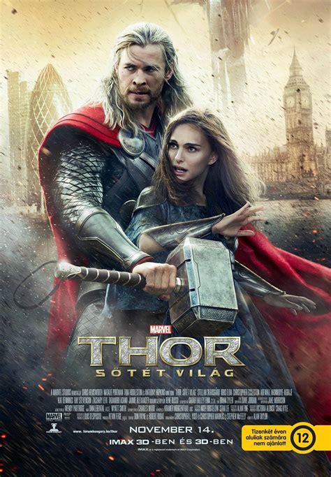 thor film magyar thor the dark world premierfilmek