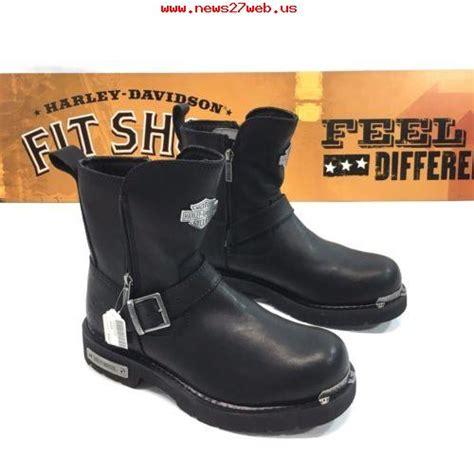 discount harley boots bulk discount harley davidson mens startex black leather