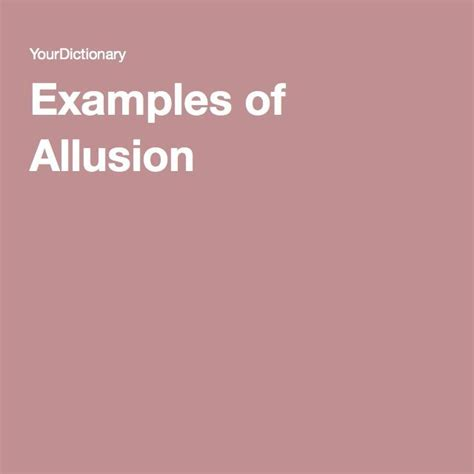 allusion related keywords allusion long tail keywords