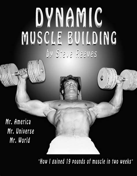 the television and stage of steve reeves books classic physique builder dynamic building steve