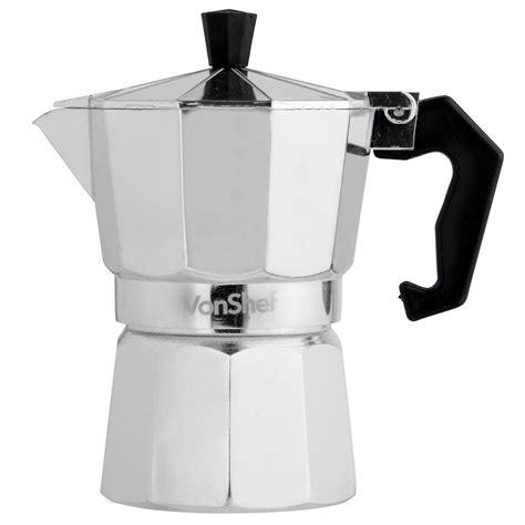 VonShef 3 Cup/150ml Italian Espresso Stove Top Coffee Maker Percolator Pot   eBay